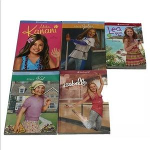 Lot of 5 American Girl Book Young Readers Meet